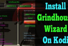 Gindhouse build wizard Kodi